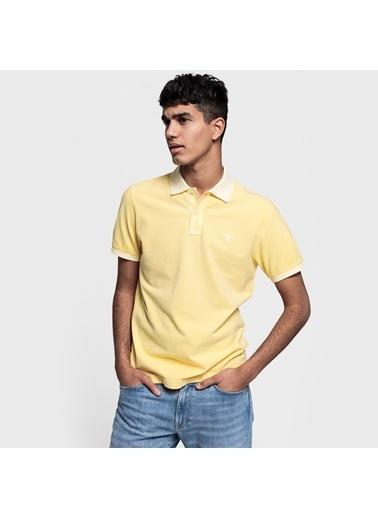 Gant Tişört Sarı